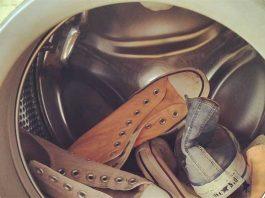 giặt giày bằng máy giặt