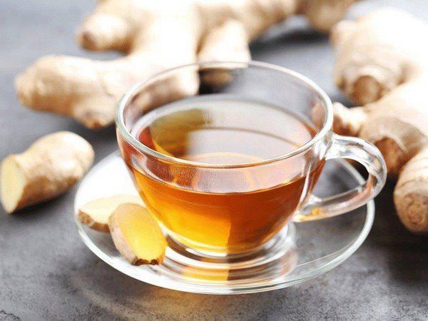trà gừng tốt cho tim mạch