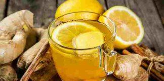 trà gừng mật ong