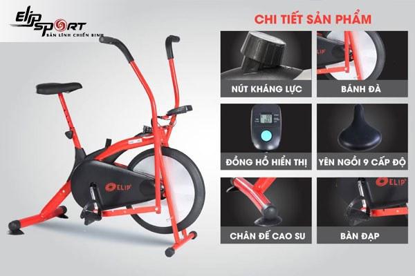 mua xe đạp tập thể dục tại nhà