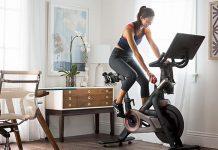 xe đạp tại nhà