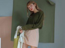 cách phối áo với chân váy ôm