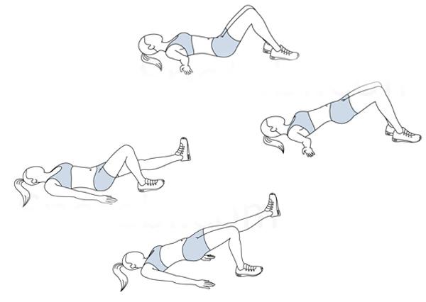Bài tập nâng mông