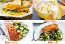 lịch ăn cho người tập gym tăng cân