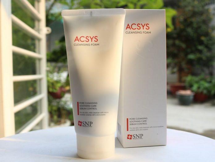 Sữa rửa mặt ACSYS có tốt không