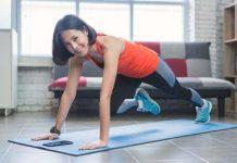 tập gym tại nhà giảm mỡ bụng