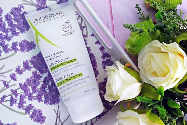 review về sữa rửa mặt Aderma